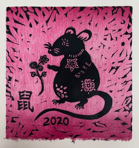 Year Of The Rat Violet