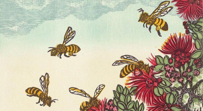 Representative Hawaiian Honeybee fine art print