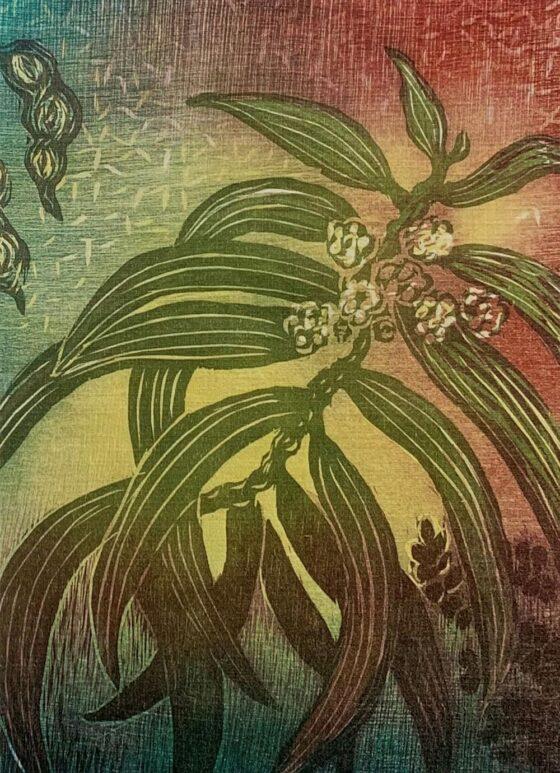 Botanic Greeting Card 2