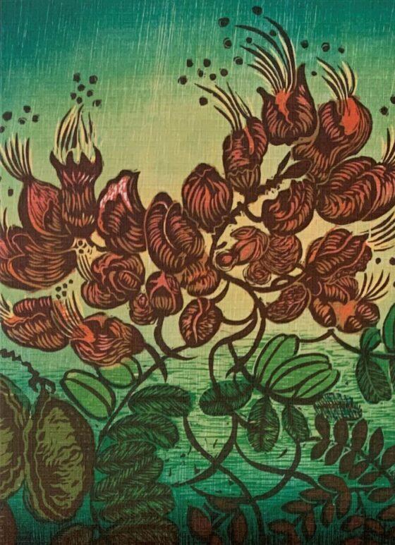 Botanic Greeting Card 4
