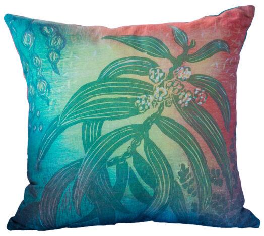 Hand Made Pillow, Koa Pattern