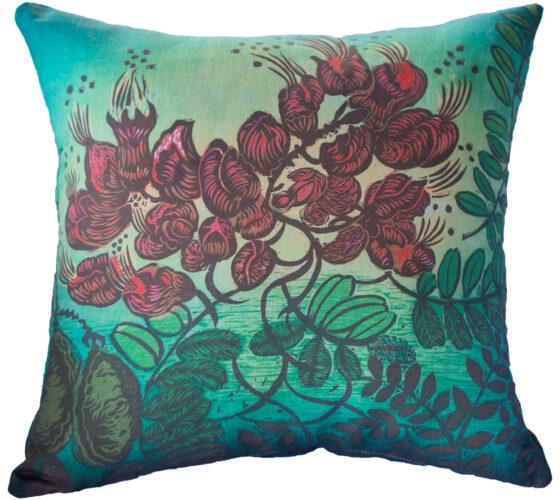 Hand Made Pillow Uhiuhi Print