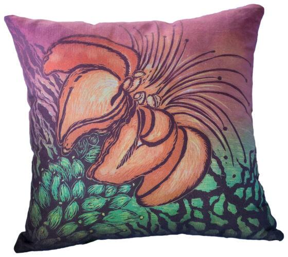 Hand Made Pillow Wiliwili Tree