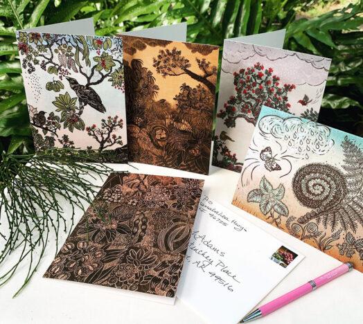 Hawaii Greet Cards Botanical