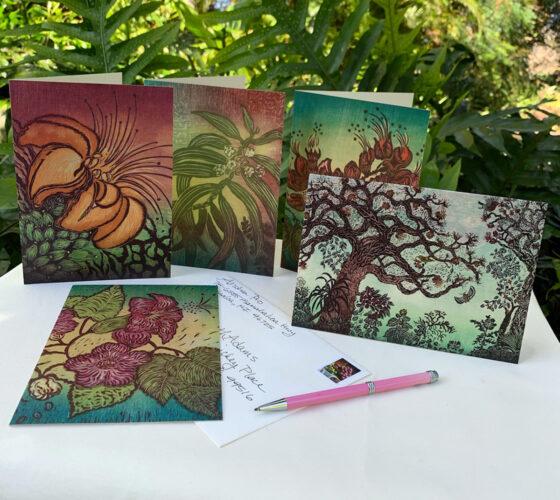 Hawaii Greet Cards Rainforest